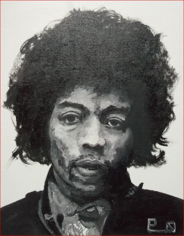 Jimi Hendrix by Picapenko